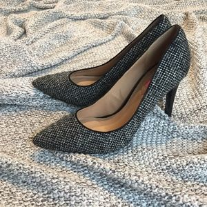 New Isaac Mizrahi Tweed Pumps 8.5 BNWT